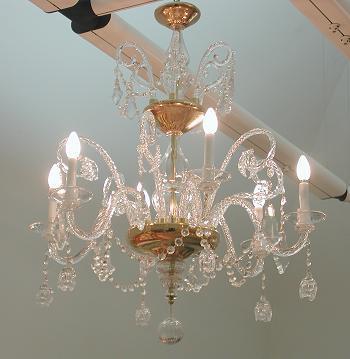 Restaurar lamparas de cristal de la granja - Lamparas cristal antiguas ...
