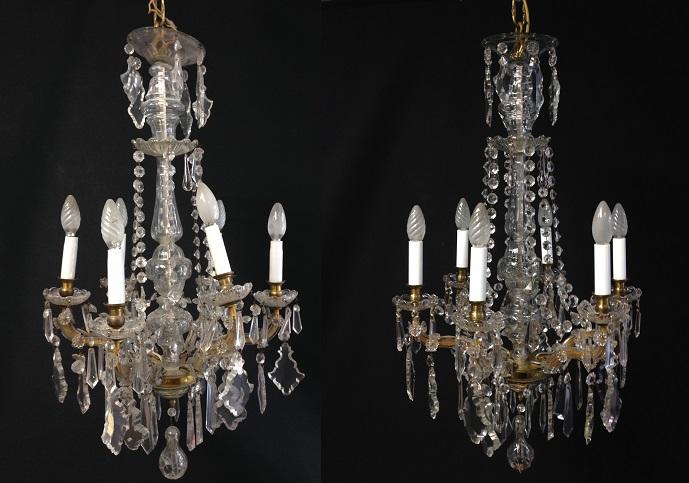Limpiar lamparas de bronce latest de araas de bronce y - Limpiar lamparas de cristal ...